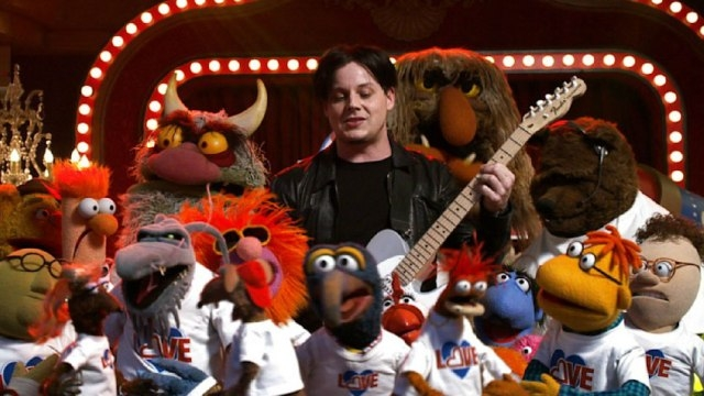 [VIDEO]: Jack White Sings Stevie Wonder Classic with The Muppets