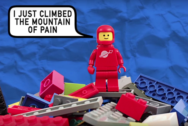 The Science Behind Why It Hurts So Much to Step on a LEGO