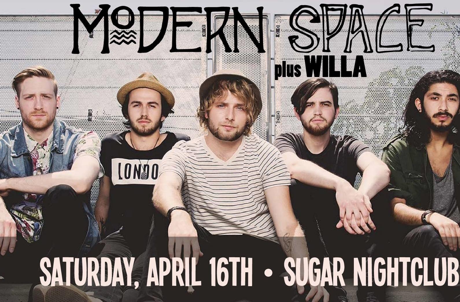 Concert Watch: Modern Space at Sugar Nightclub, April 16th