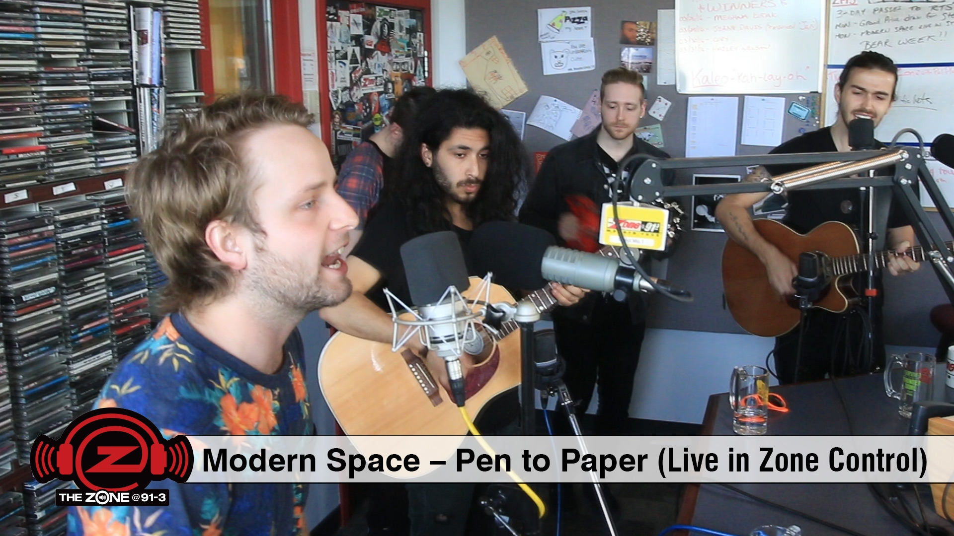 Modern Space - Pen to Paper (Live in Zone Control)