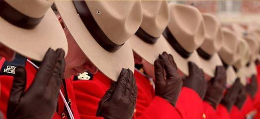 Wear Red on April 12th to Support Fallen RCMP Officer