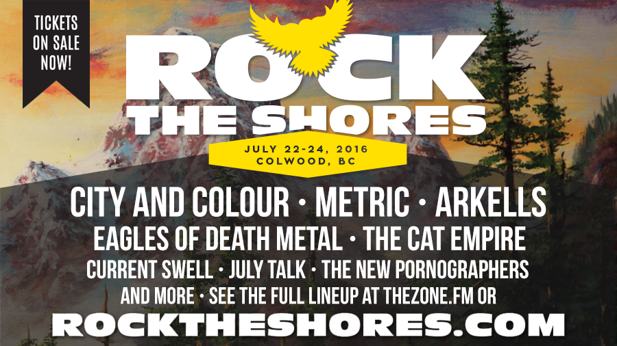Rock The Shores 2016 FULL lineup