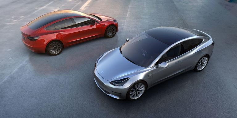 Tesla Unveils Model 3 Electric Car Aimed At Average Car Buyers