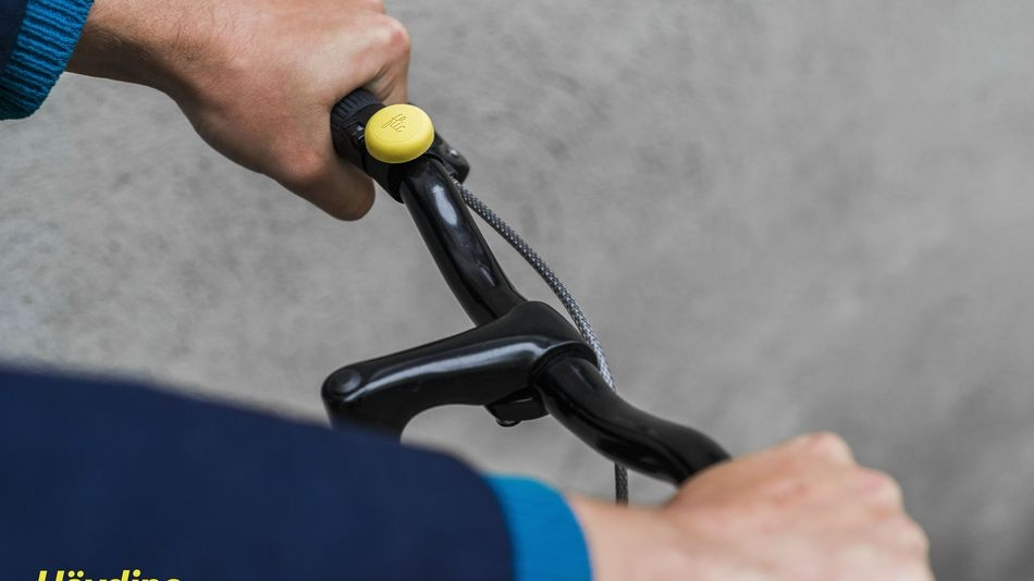 This button could help make your bike route safer