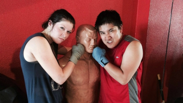 [Fight 4 The Cause]: Jenny & Boitano are punching things. You should join them!