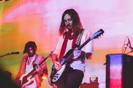 Tame Impala gets pillows thrown at them during French concert