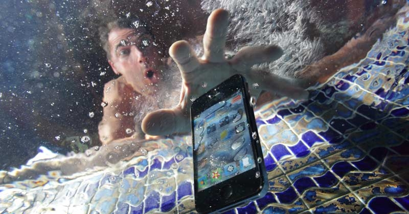 The best way to save your phone from water
