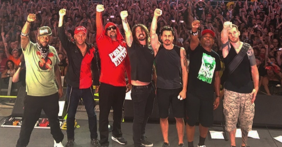 [WATCH] Prophets of Rage + Dave Grohl