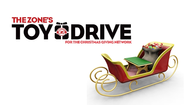 The Zone's 6th annual Toy Drive