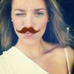 me winking full face moustache