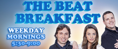 The Beat Breakfast with Carlos, Sophie and Dave