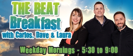The Beat Breakfast with Carlos, Dave and Laura