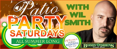 Patio Party Saturdays with Wil Smith