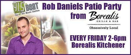 Rob Daniels Patio Party at Borealis