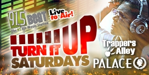 Turn it up Saturdays at The Palace